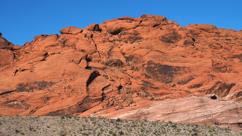 This is why Red Rock Canyon gets its name