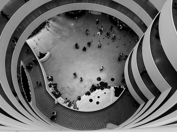 Guggenheim - Looking down