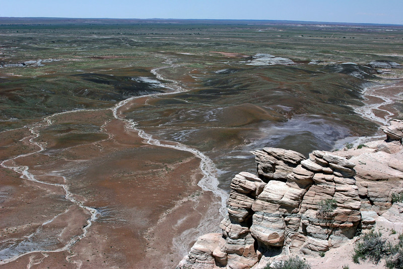 AZ-Petrified Forest National Park-Blue Mesa-2005-05-22-0016