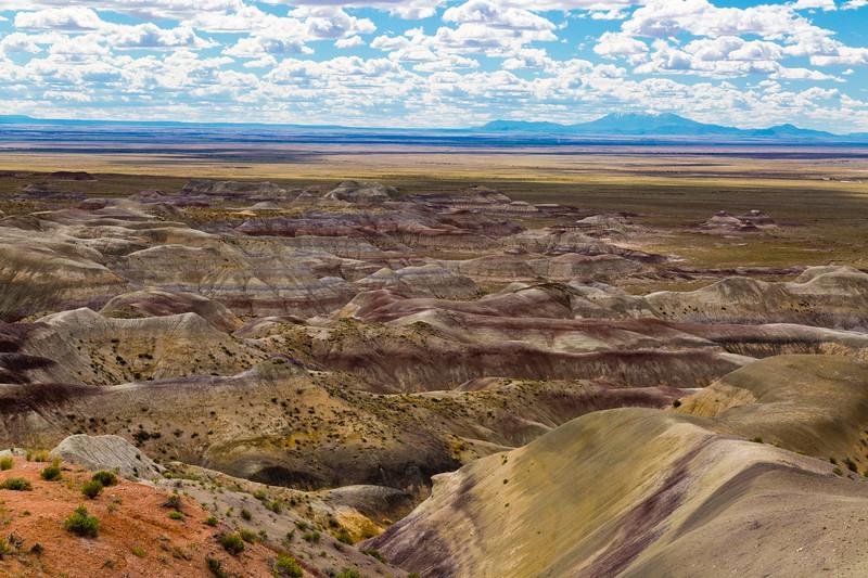 Winslow, AZ - Little Painted Desert