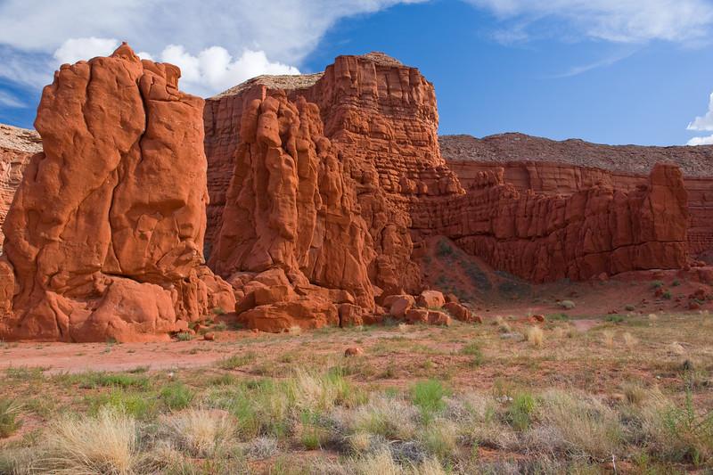 AZ-Baby Rocks 2008-08-30-0002<br /> Old Trail West of Kayenta, AZ on Hwy-160