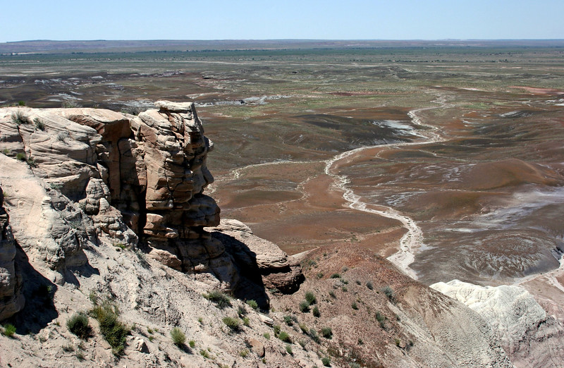 AZ-Petrified Forest National Park-Blue Mesa-2005-05-22-0013