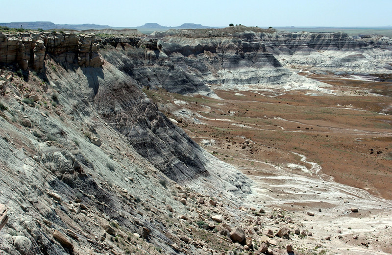 AZ-Petrified Forest National Park-Blue Mesa-2005-05-22-0017