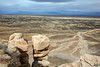 AZ-Petrified Forest National Park-Blue Mesa-2008-01-05-0006
