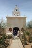 "AZ-San Xavier Mission-2008-02-18-0003<br /> <br /> Also called the ""WHITE DOVE of the DESERT"""