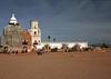 "AZ-San Xavier Mission-2008-02-18-0002<br /> <br /> Also called the ""WHITE DOVE of the DESERT"""