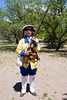 AZ-Tumacacori National Histrical Park-Costume-2010-05-06-0006<br /> <br /> We were fortunate on this visit as there were stations setup for some school kids and the participants were in period costumes.