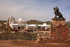 "AZ-San Xavier Mission-2008-02-18-0004<br /> <br /> Also called the ""WHITE DOVE of the DESERT"""