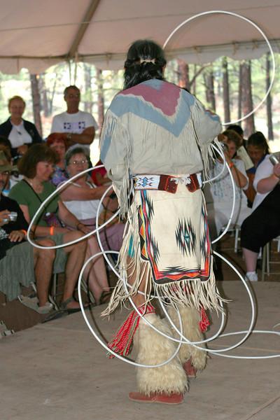 V-AZ-Flagstaff-Museum of N. AZ-Navajo-Dance & Song-2006-07-30-0009