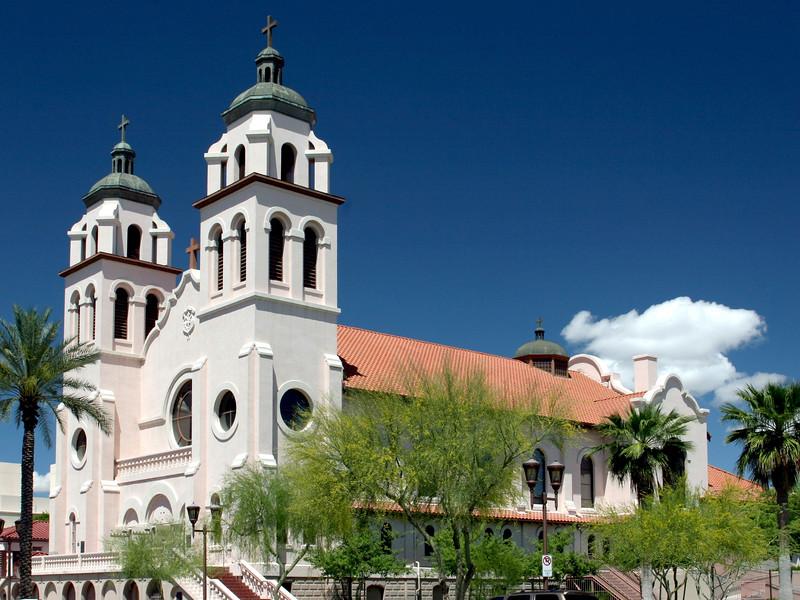 AZ-Phoenix-St  Mary's Basilica-2005-04-24-0002