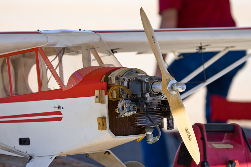 AZ-Yuma-Model Airplanes-2011-03-13-0007<br /> <br /> Take notice of the spark plug.  First gas engine I have seen on a model...