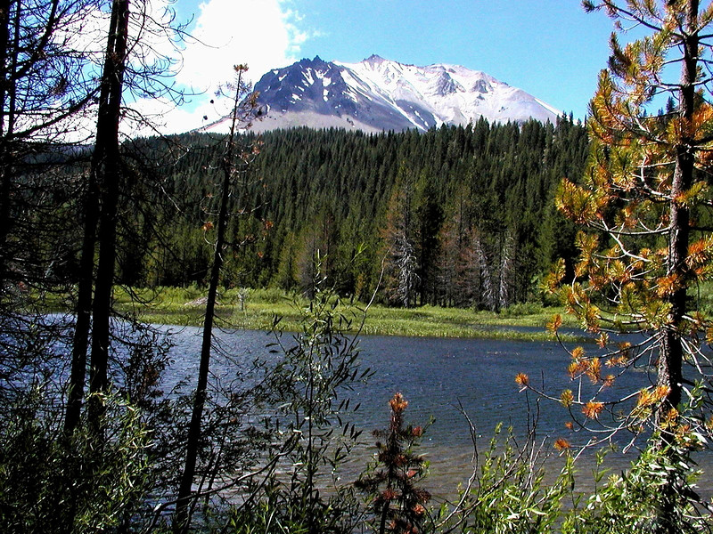CA-Lassen Volcanic National Park-Hat Lake-2003-08-05-0004