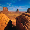 Mittens & Merrick Butte, Momument Valley Navajo Tribal Park, Arizona
