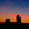 Mittens at Sunrise, Momument Valley Navajo Tribal Park, Arizona