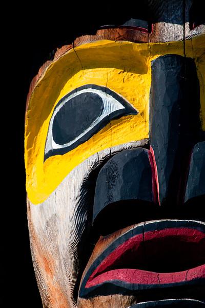 Totem Pole, Victoria, British Columbia