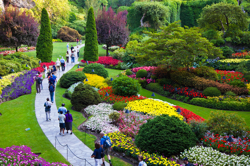 Butchart Garden, Victoria, British Columbia