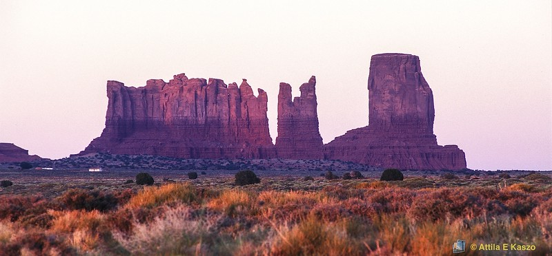 Landscape - Sunset<br /> Monument Valley, Arizona, USA