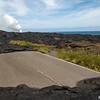 Lava Road, Kilauea Volcano Landscape, Big Is., Hawaii, USA