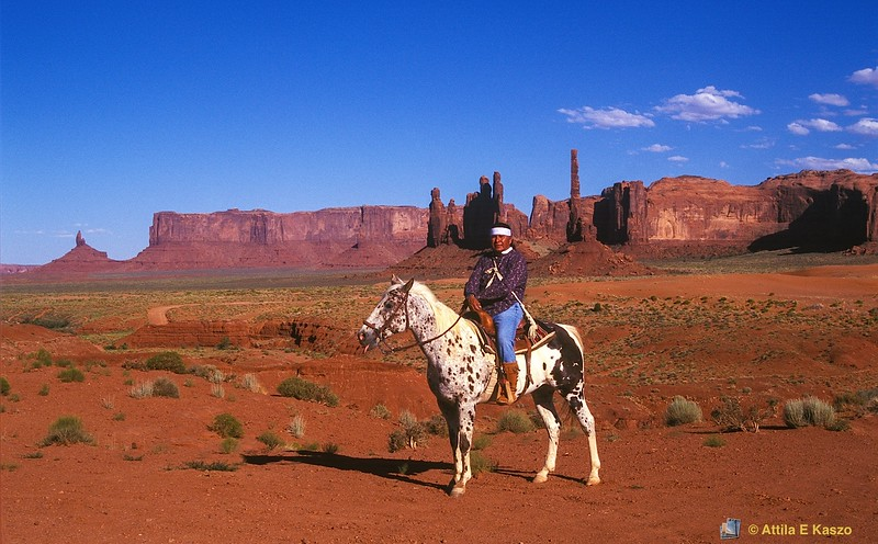 Navajo Indian<br /> Monument Valley, Arizona, USA
