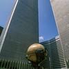 World Trade Centre - Sculpture<br /> Manhattan, NYC, USA