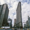Flatiron Building - Built 1902<br /> 5th Ave. / Broadway, Manhattan, NYC, USA