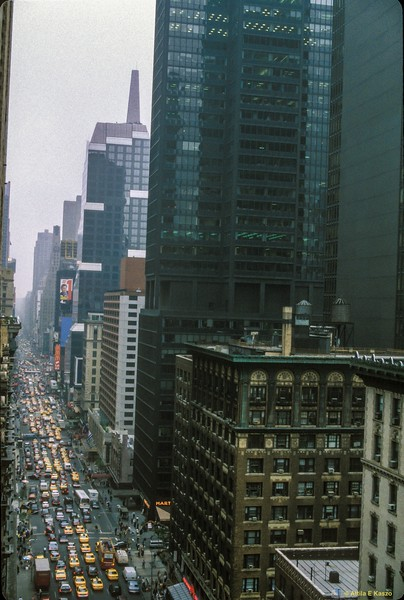 City - 7th Ave. 6.00pm<br /> Manhattan, NYC, USA