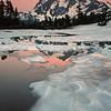 Mt. Shuksan Reflection in Picture Lake, North Cascades National Park, Washington