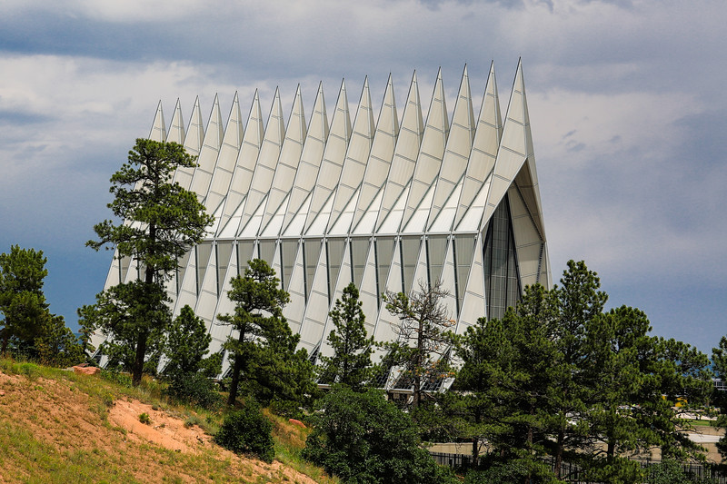 Colorado City, CO - Air Force Acadamy - Chapel