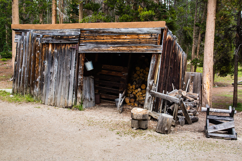 Holzwarth Trout Lodge - Wood Shed