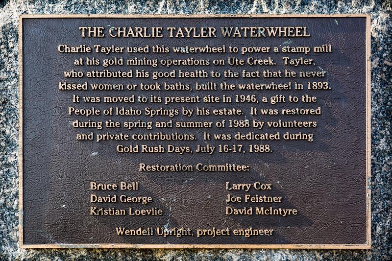 Charlie Tayler Water Wheel