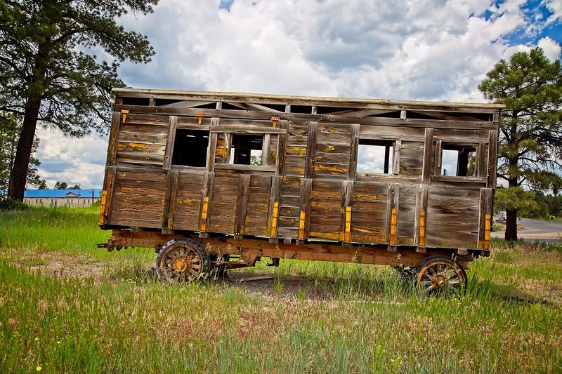 Old Circus Wagon