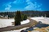 Railroad Track in the Snow