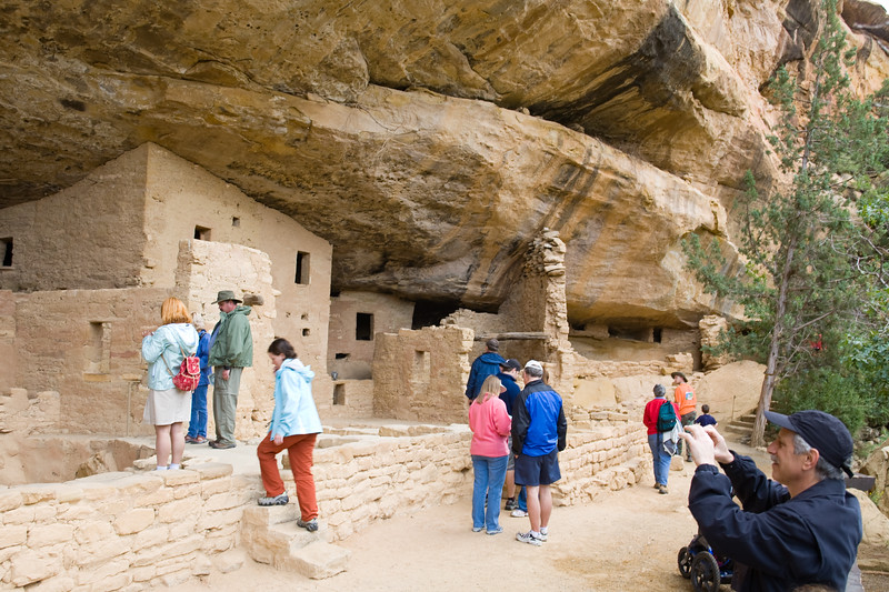 CO-Cortez-Mesa Verde-2008-08-31-0014<br /> <br /> Spruce Tree House