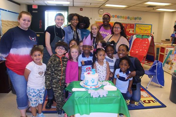 USA Day Child development  AM Favor's birthday 5-10-2017