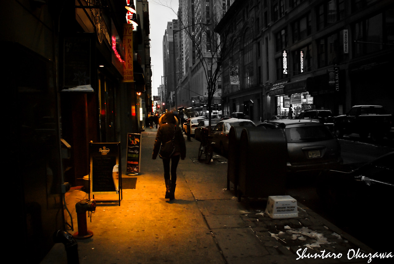Winter Alley @ NYC