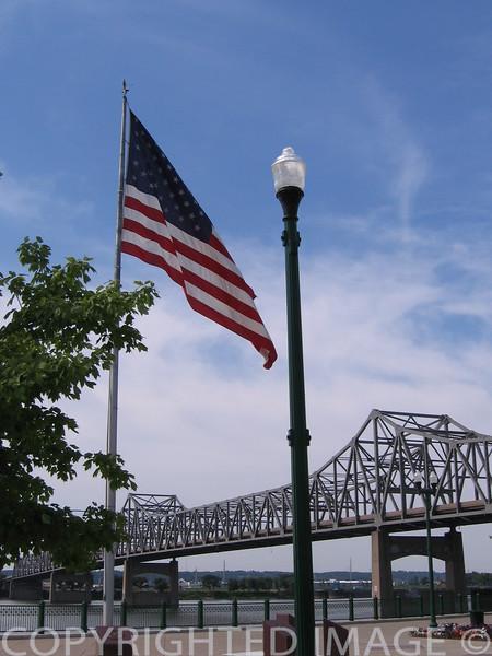 Illinois River at Peoria