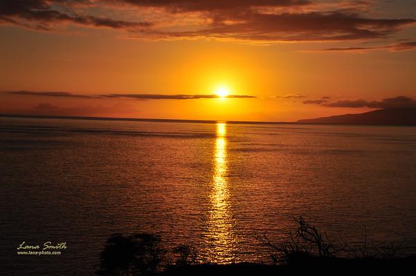 Hawaii Maui Sunset 2 sig