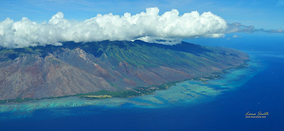 Hawaii aerial view sig