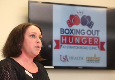 Boxing Out Hunger