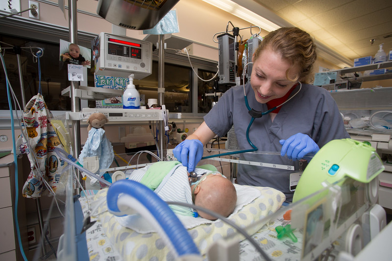 University of Alabama College of Medicine medical student,  USA Children's & Women's Hospital Neonatal Intensive Care Unit, NICU Thursday, Aug.20, 2015.