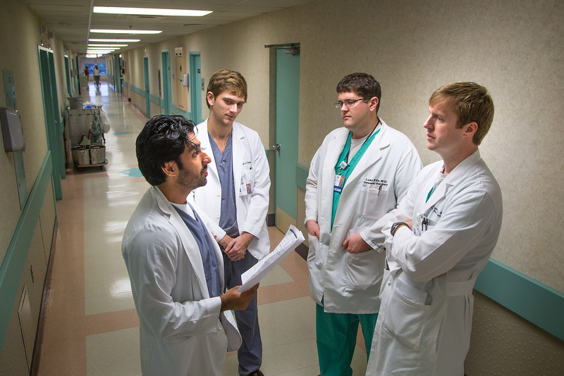 University of South Alabama College of Medicine Medical Student, resident physician, Dr. Leander (Lee) Grimm, M.D. Assistant Professor, Colon and Rectal Surgery Thursday, Aug.20, 2015. USA College of Medicine