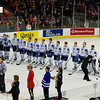 Finland National Junior Team - The Finland National Junior Team defeated the U.S. National Junior Team 4-1 in pool play of the World Junior Championships on December 28, 2011, at the Rexhall Centre, in Edmonton,  Alberta, Canada.