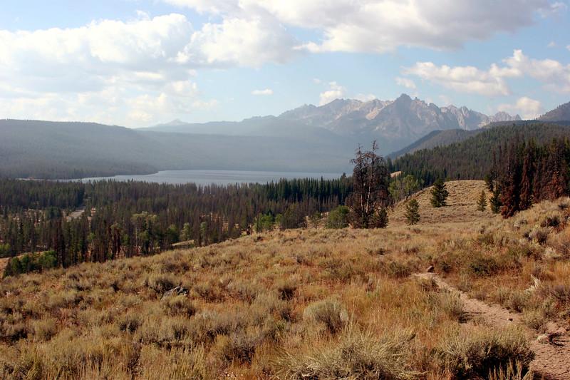 ID-Stanley-Sawtooth Mountains-Redfish Lake from Horseback-2005-08-30-0011