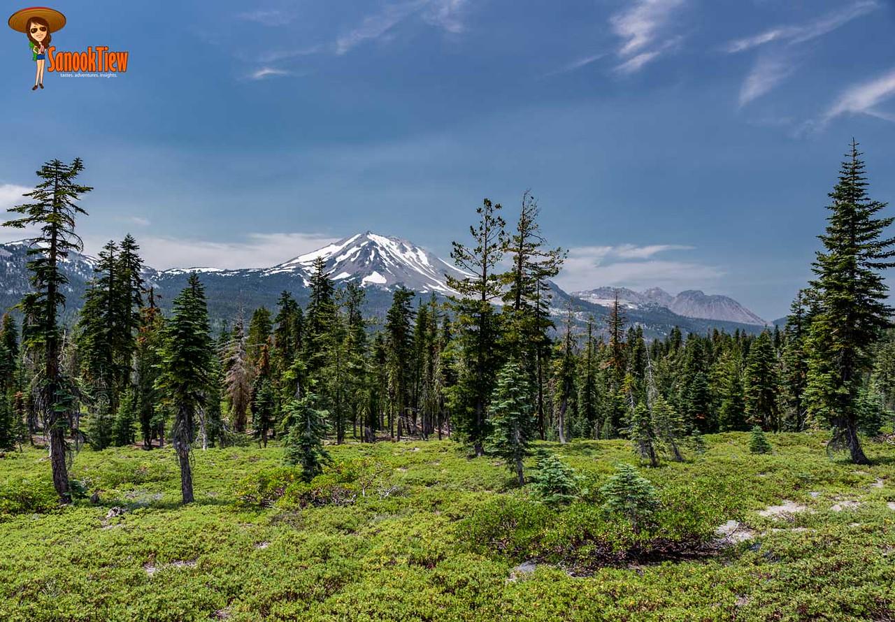 เที่ยว Lassen Volcanic National Park แค้มปิ้งที่ Summit Lake South เดินชม Echo Lake แคลิฟอร์เนีย อเมริกา