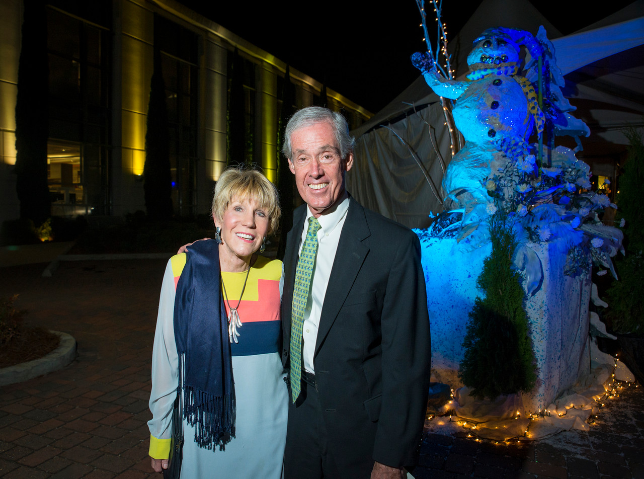 The 8th Annual Celebrate Hope drew hundreds of supporters to USA Mitchell Cancer Institute on Thursday, Nov. 17, 2016, in Mobile, Ala. Proceeds from the annual gala support cancer research and technology at MCI, with $2.2 million raised over the past seven years. (Michael Dumas Image Arts)