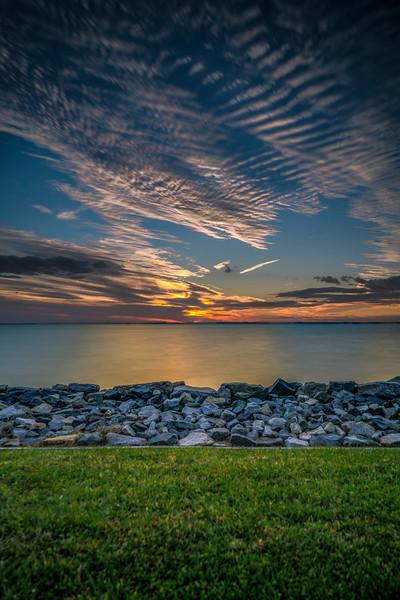 Sundown on the Chesapeake