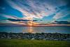 Sun Going Down on the Chesapeake Bay