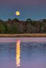 Super Moon Rising on Huntingfield Creek