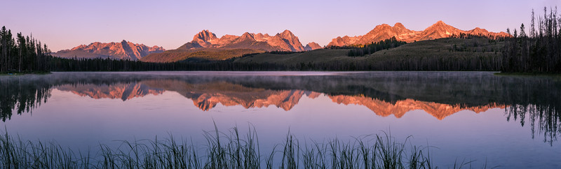Sawtooth Mountains, Little Redfish Lake, Idaho