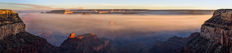 Smoke on the Grand Canyon